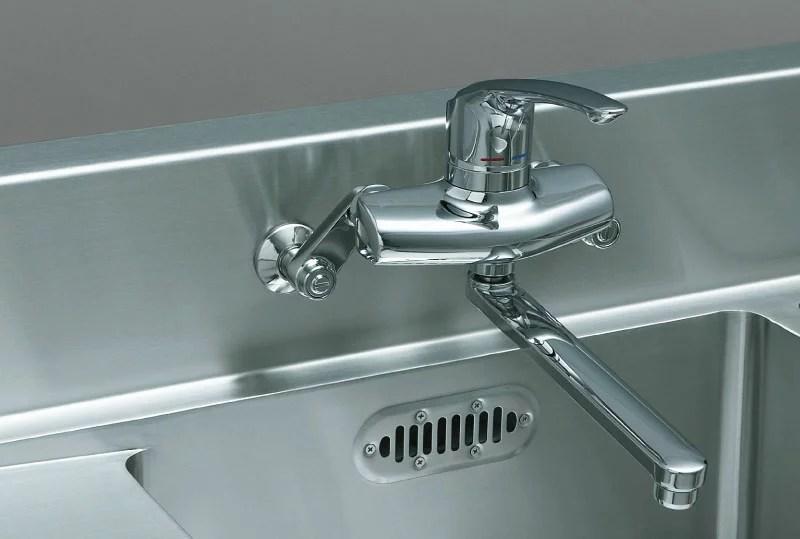 kitchen sink drain high table set 【楽天市場】サンウェーブ業務用流し台間口1200奥行600 ...