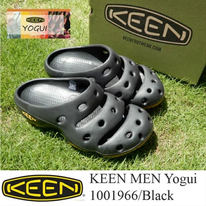 KEEN MEN Yogui 1001966/Black