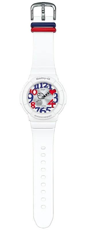 【楽天市場】CASIO BABY-G カシオ ベビーG 腕時計 レディース ホワイト・トリコロール アナデジ BGA