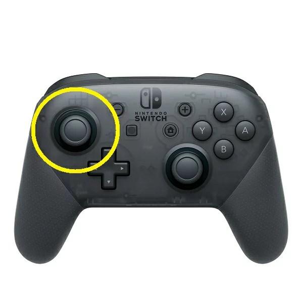 SwitchプロコントローラーのL側スティックだけ修理します【任天堂・game pad・本体修理】