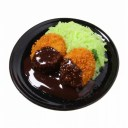 食品サンプル屋さんのマグネット(コロッケ)食品サンプル ミニチュア 雑貨 食べ物 揚げ物 土産 リアル
