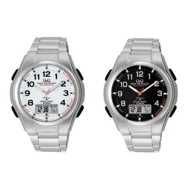 【在庫有】電波腕時計 ソーラー メンズ