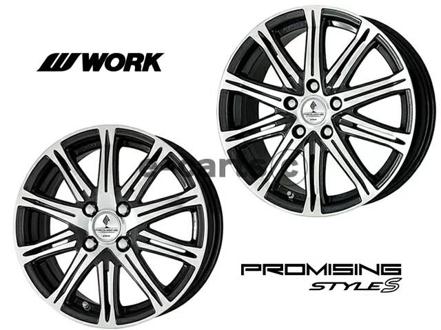 【タイヤ・ホイール 4本セット】 ワーク プロミッシング スタイル S WORK PROMISING STYLE S