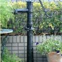 井戸用ポンプ ローズポンプ(台座付) 手動 アンティーク 手押しポンプ ガーデンオブジェ