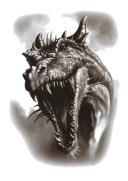 (ファンタジー) TheFantasy タトゥーシール タトゥーシール 恐竜 ダイナソー hhb787【中型・A5】