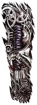 (ファンタジー) TheFantasy タトゥーシール タトゥーシール 肩から手首 メタル筋肉 qb3008【特長】