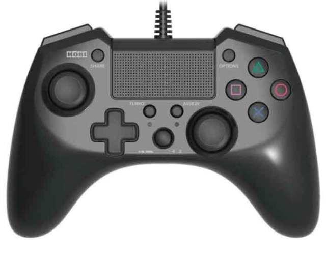 【新品】(税込価格)【PS4/PS3対応】ホリパッドFPSプラス ブラック★新品未使用品ですが、外パッケージに少し傷み汚れテープ接着部分剥離等がある場合がございます。