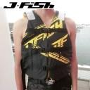 【SALE】JLV-385 ジェイフィッシュ ライフジャケット フロントバックル ジェットスキー 水上バイク 水上オートバイ JCI認定