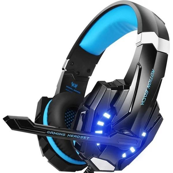 BENGOO / G9000 (Blue) - PS4対応 ゲーミングヘッドセット 直輸入品