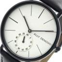 アリーデノヴォ ALLY DENOVO 腕時計 レディース 36mm AF5001-5 HERITAGE SMALL クォーツ ホワイト ブラック ホワイト