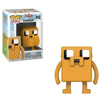 [FUNKO(ファンコ)] FUNKO POP! TELEVISION: Adventure Time / Minecraft - Jake <アドベンチャー・タイム/マインクラフト>