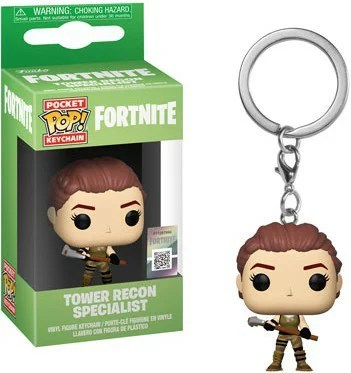 ■予約■[FUNKO(ファンコ)フィギュア] FUNKO POP! KEYCHAIN: Fortnite S1a -Tower Recon Specialist <フォートナイト>