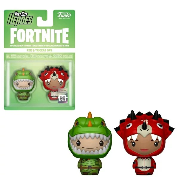 [FUNKO(ファンコ)フィギュア] FUNKO PINT SIZE HEROES: Fortnite S1a - Rex & Tricera Ops <フォートナイト>