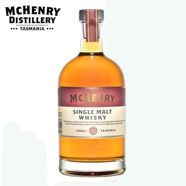 マクヘンリー シングルモルトウイスキー バレル7 44度 500ml オーストラリア 限定品
