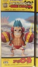 【ワンピース】組立式ワールドコレクタブルフィギュア 鉄の海賊 フランキー将軍 ・フランキー【単品】