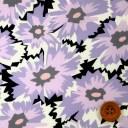 リバティプリント タナローン(Firecracker Floral ライトパープル)ファイヤークラッカー・フローラル【20-23401126・SD20A】
