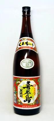 喜界島 黒糖焼酎25度 1.8L 奄美特産