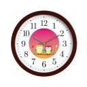 【カクセ—】 幸せ夫婦ふくろう掛時計 【インテリア・寝具・収納:時計:掛け時計】【KAKUSEE】