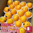 激甘 大玉 ネーブル バレンシア オレンジ 21玉 約5kg