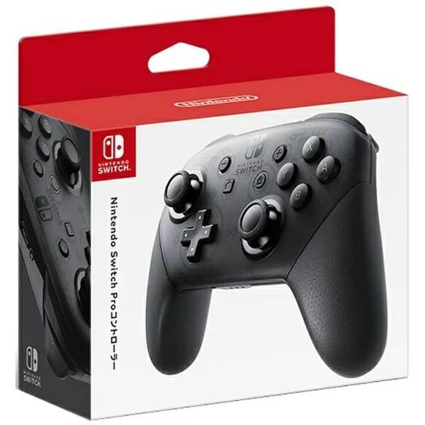 任天堂 Nintendo 【純正】Nintendo Switch Proコントローラー【Switch】[ニンテンドースイッチ プロコントローラー プロコン]