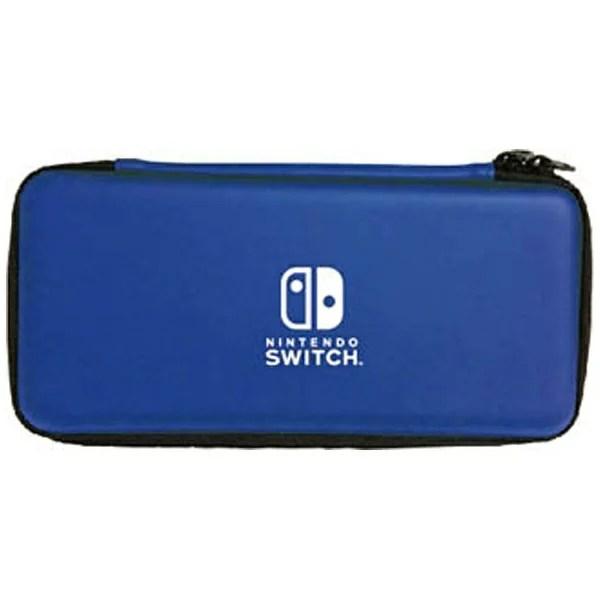 マックスゲームズ Nintendo Switch専用スマートポーチEVA ブルー HACP-02BL [Switch]