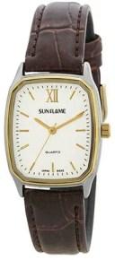 サンフレイム メンズ腕時計 MJG-B17-BR メイドインジャパン サンフレイム
