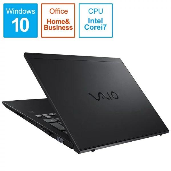 VAIO バイオ VJS14190111A ノートパソコン VAIO SX14【4K・LTE対応モデル】 オールブラック [14.0型 /inte...