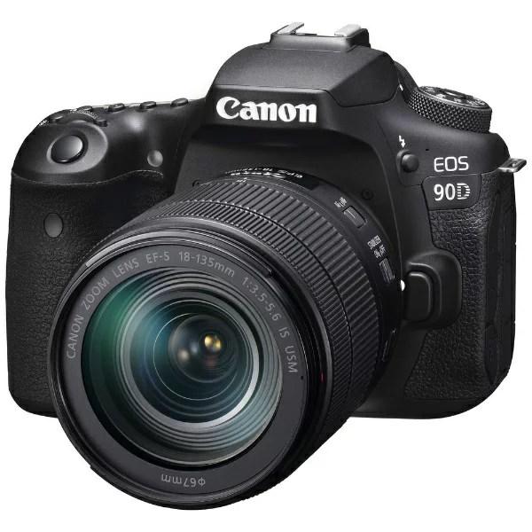 キヤノン CANON EOS 90D デジタル一眼レフカメラ 18-135 IS USM レンズキッ