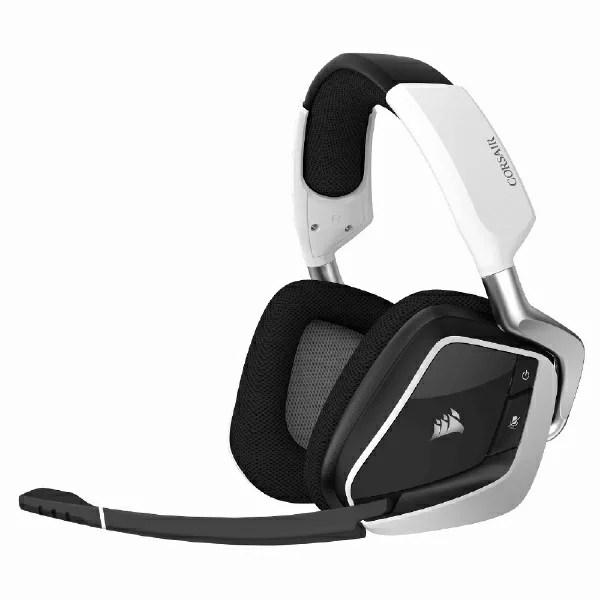 CORSAIR コルセア CA-9011202-AP ゲーミングヘッドセット VOID RGB ELITE Wireless White ホワイト [ワイヤレス(USB) /両耳 /ヘッドバンドタイプ][CA9011202AP]
