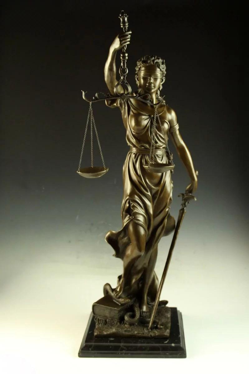 【楽天市場】【送料無料】超大型ブロンズ像 正義の女神Houdon 76cm 17.1キロ:西洋美術屋 楽天市場店