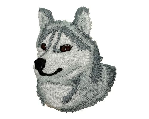 ブリード刺繍ワッペン/シベリアンハスキー - ザ・ブラックラブカンパニー