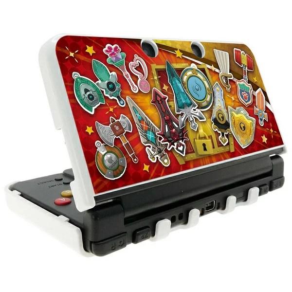 スナックワールド new NINTENDO 3DS 専用 カスタムハードカバー ジャラ Ver.