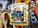 アメリカンマッスルのU.S.ヘヴィースチールサイン(マッスル) ■ サインプレート ブリキ アメリカ看板 ティンサイン サインボード アメ..