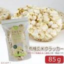 賞味期限2021/3/16【尾田川農園】有機玄米クラッカー 85g