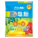【単品配送】 サラヤ 匠の塩飴 3種アソート味 マスカット・レモン・スイカ 750g (10袋入 @1袋あたり \1364) 27860