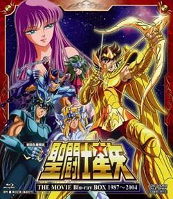 聖闘士星矢 THE MOVIE Blu−ray BOX 1987〜2004【アニメ・特撮 Blu-ray Disc(ブルーレイ ディスク)】
