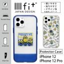 ミニオンズ IIIIfit クリア ハードケース iPhone12 iPhone 12 Pro キャラクター スマホケース ……