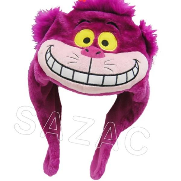 【送料無料】 【正規品】 SAZAC 着ぐるみ帽子 チシャ猫 キャップ 大人用 RBJ-065 ディズニー Disney