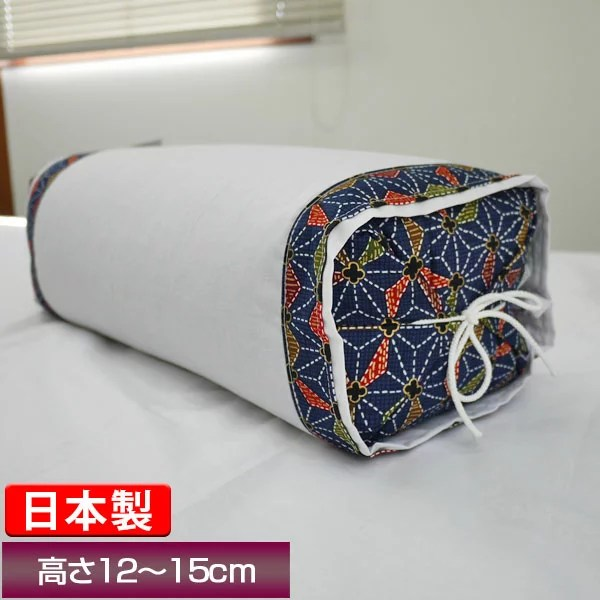 【最安値に挑戦!】日本製!坊主枕(パイプ)カバー付き/ぼうず
