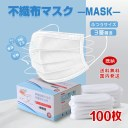 【在庫あり・国内出荷】1-2営業日発送 マスク 100枚入