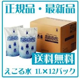 【送料無料設定】【正規品】えこる水 通常パックセット1000