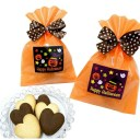 ハロウィン お菓子 プチギフト ハロウィンクッキー(ハートクッキー6枚入)ハロウィン 子供 お菓子 クッキー 個包装 販促 あす楽