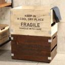 【送料無料】フラジールスタッキングボックス L ■収納 インテリア ボックス 木箱【TOKYO DESIGN CHANNEL】
