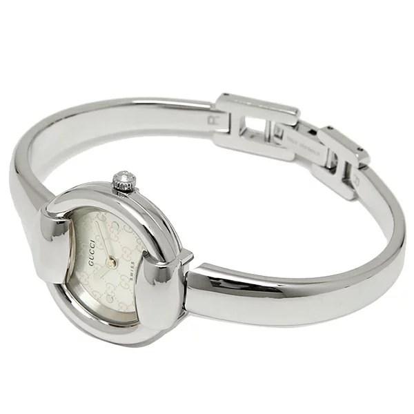 Brand Shop AXES | 日本樂天市場: Gucci 古奇手錶手錶 Gucci 手錶女裝 GUCCI 1400 系列 YA014518 手錶手錶白色珍珠 / 銀