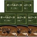 欧風カレー オーベルジーヌ ビーフカレー 200g×5食まとめ買いセット
