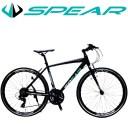 ブラックフライデー 対象商品 クロスバイク アルミフレーム 700c 自転車 シマノ 変速 21段 SPEAR ( スペア ) SPCA-7021 ディレーラ To..