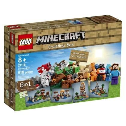 マインクラフト グッズ LEGO Minecraft 21116 Crafting Box[並行輸入品]