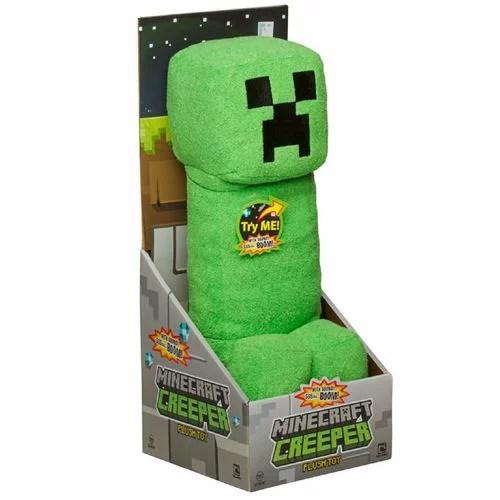 Minecraft クリーパー35センチメートルぬいぐるみ サウンド