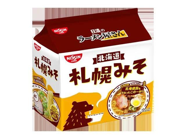 日清のラーメン屋さん 札幌みそ5食パックx6個 - 東乾