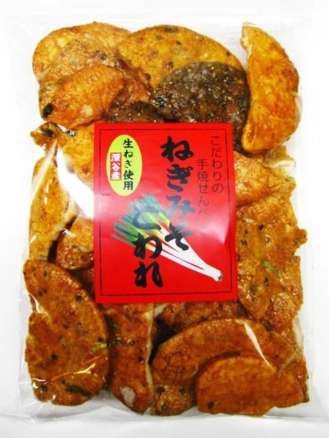 【訳あり】 ねぎみそせんべい こわれ[久助]180g (片岡食品)